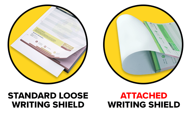 Carbonless NCR Writing Shields Explained.
